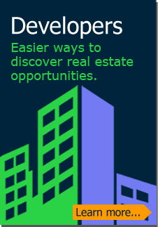 Developers: Easier ways to discover real estate opportunities. (Learn more)