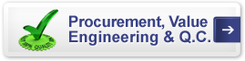 Procurement, Value Engineering and Quality Control